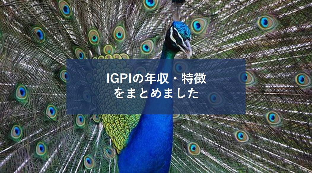 【唯一無二を目指す転職】経営共創基盤(IGPI)の年収や採用条件