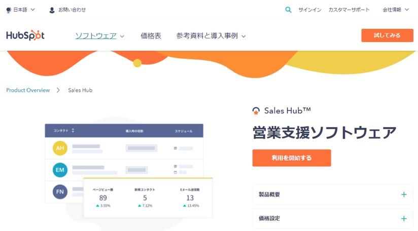 Hub Spot(Sales Hub)